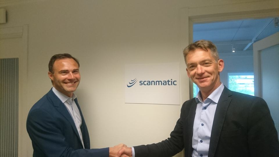 Johan Lindh appointed new CEO of Scanmatic Sweden